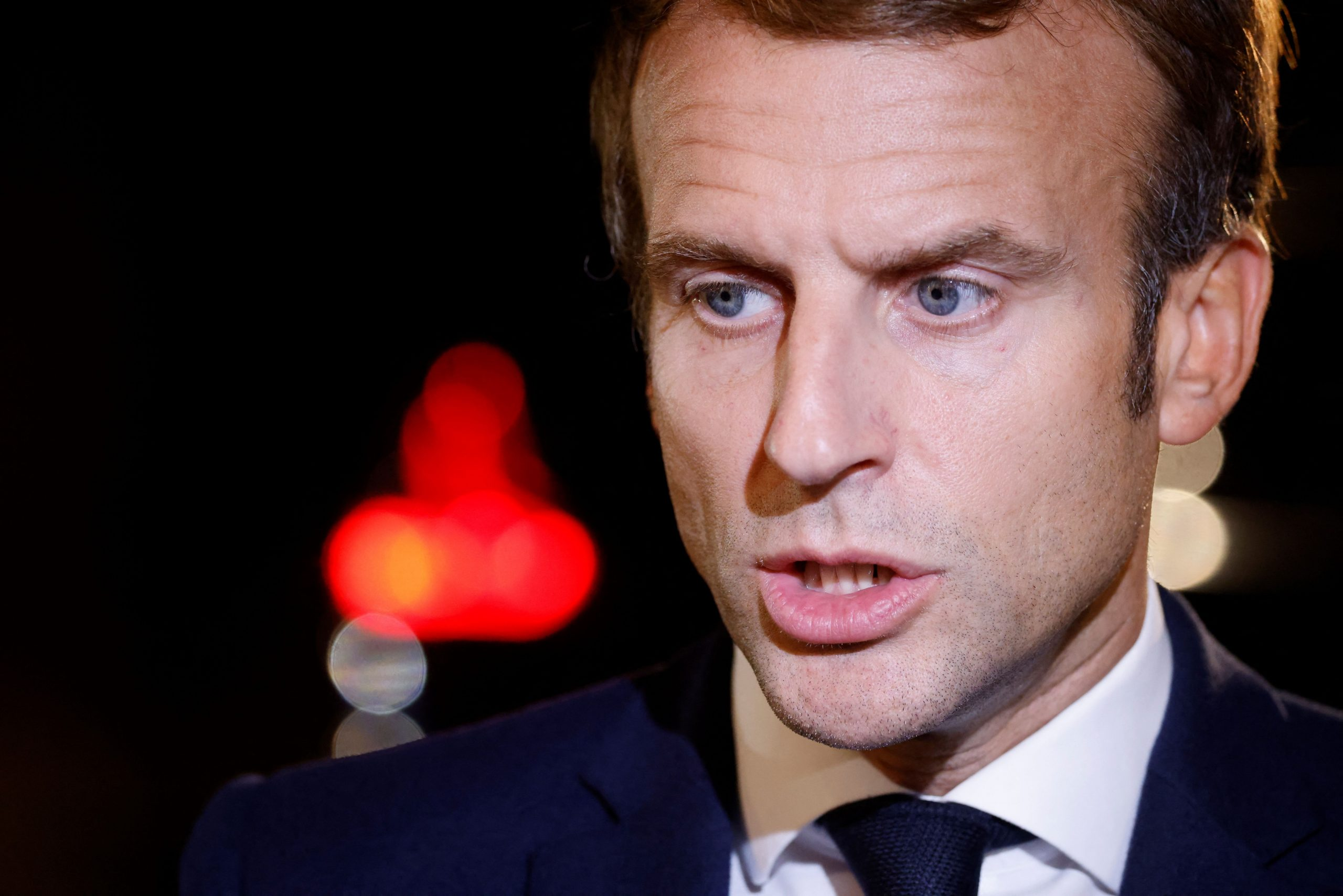 Macron on French-U.S. alliance: 'We will see'