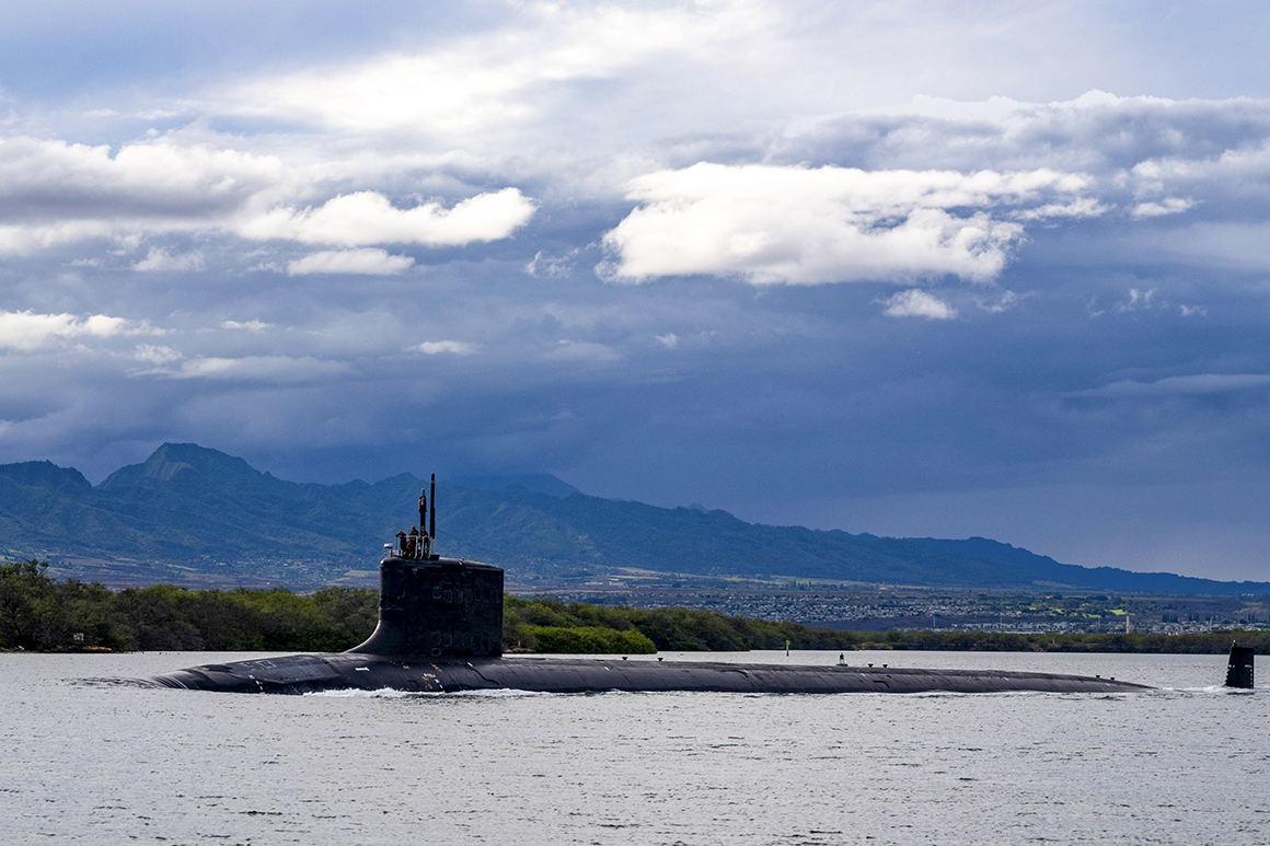 Maryland husband and wife arrested in nuclear submarine spy case