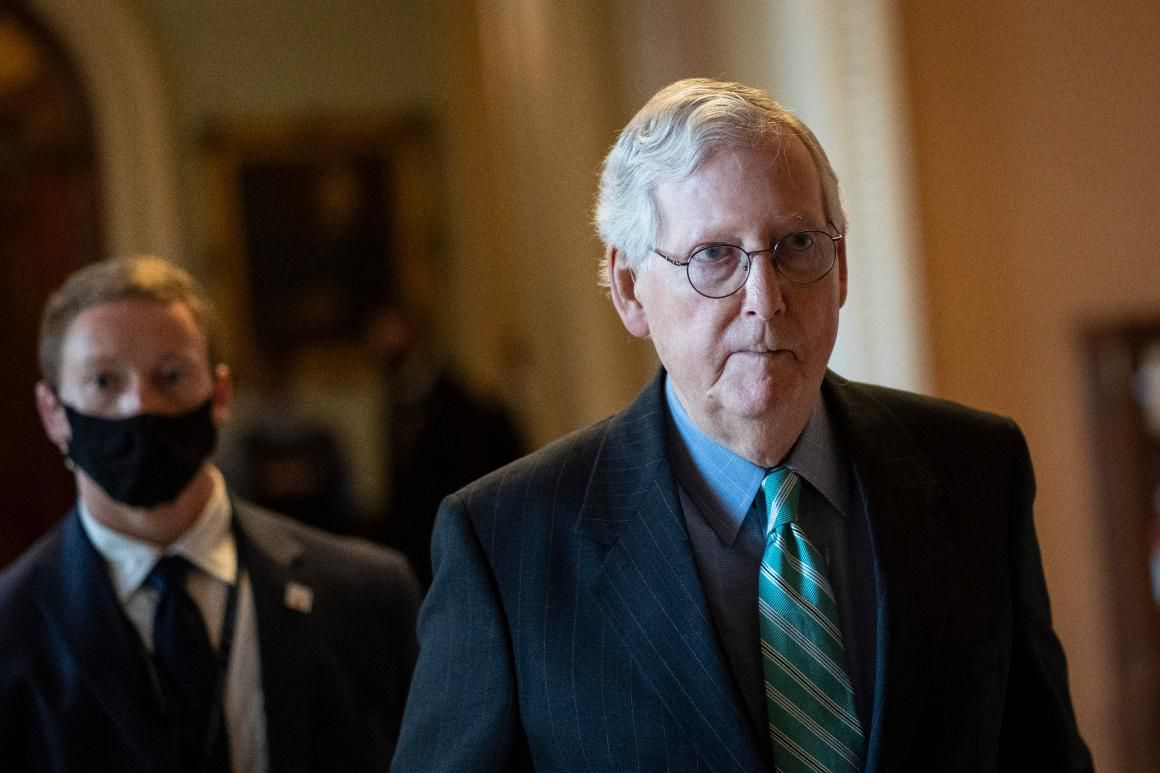 McConnell says GOP won't help with debt ceiling again