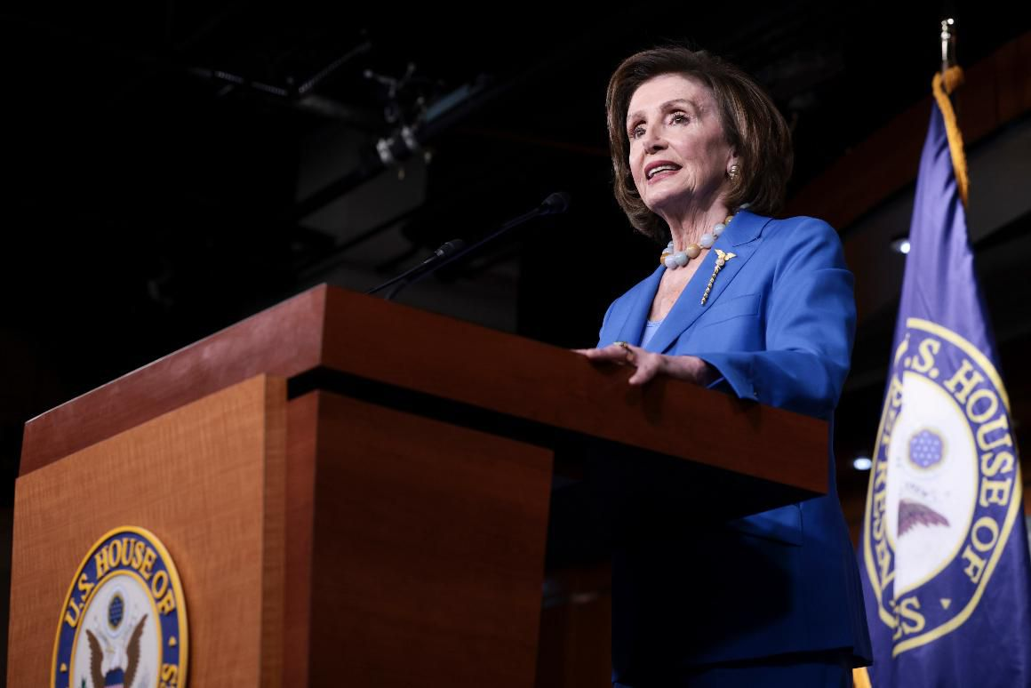 Pelosi vows Dems won't back down on climate