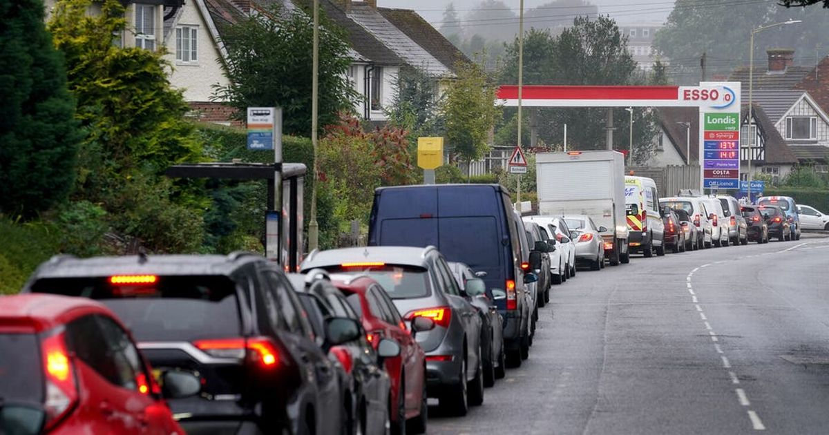 Petrol shortage is 'a crisis' minister says but calls it a 'good lesson'