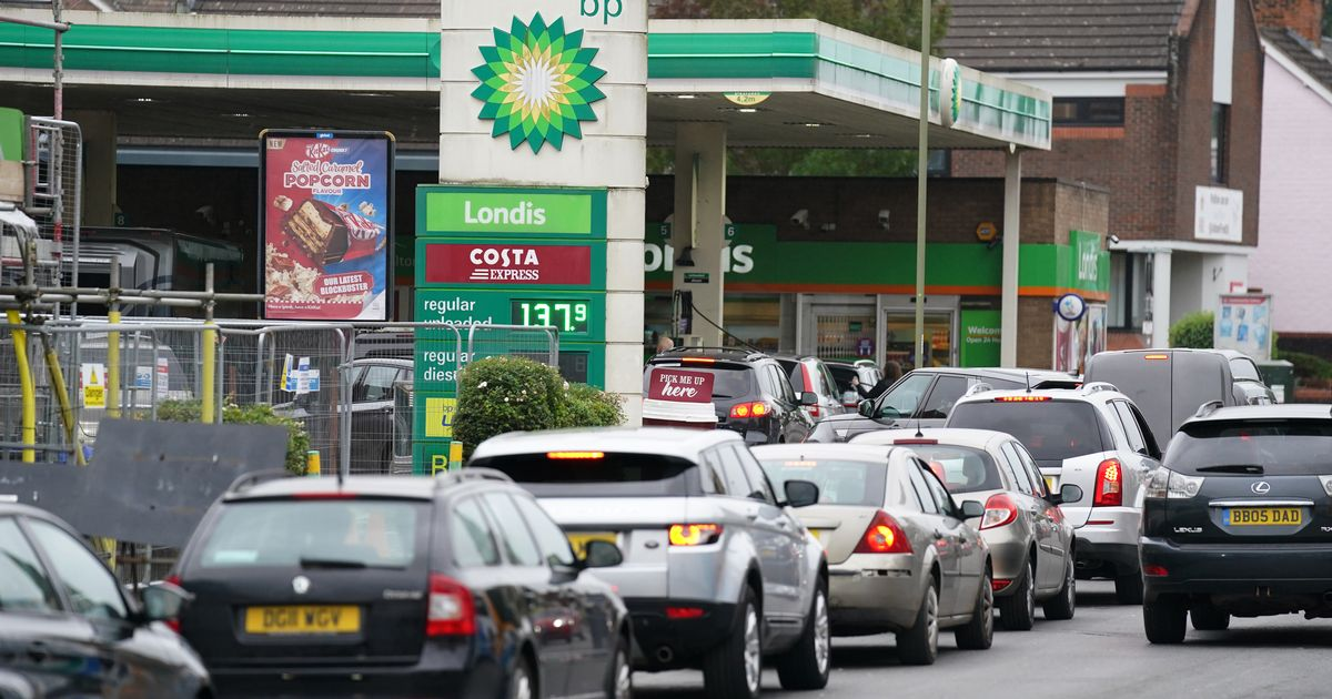 Petrol shortages will carry on for another week 'or so' says minister