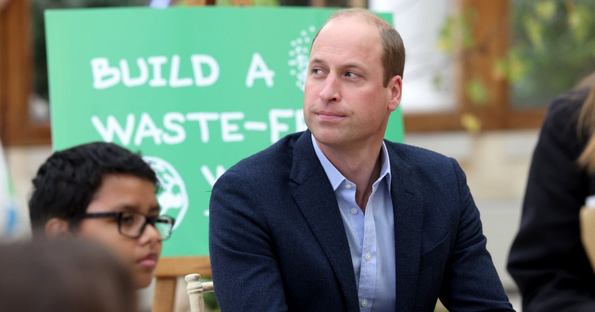 Prince William tells billionaires: Forget space race and focus on saving Earth