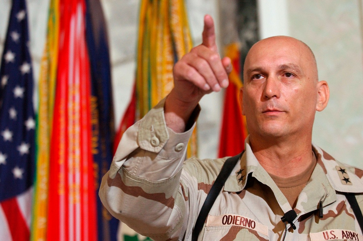 Raymond Odierno, Army general who commanded in Iraq, dies at 67