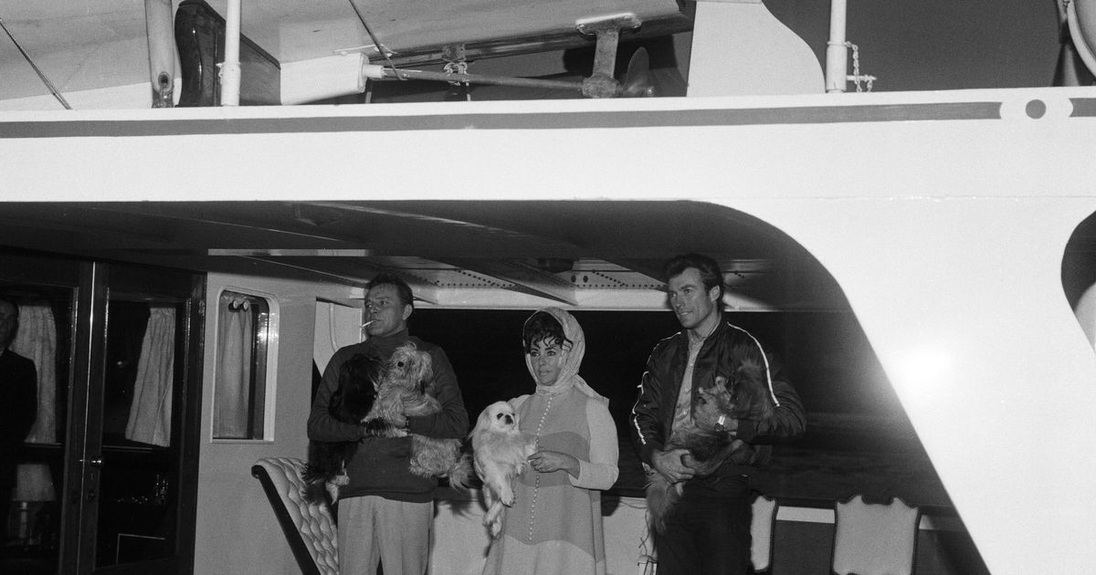 Richard Burton spent $20,000 so his dogs could live on a yacht for two months to avoid quarantine