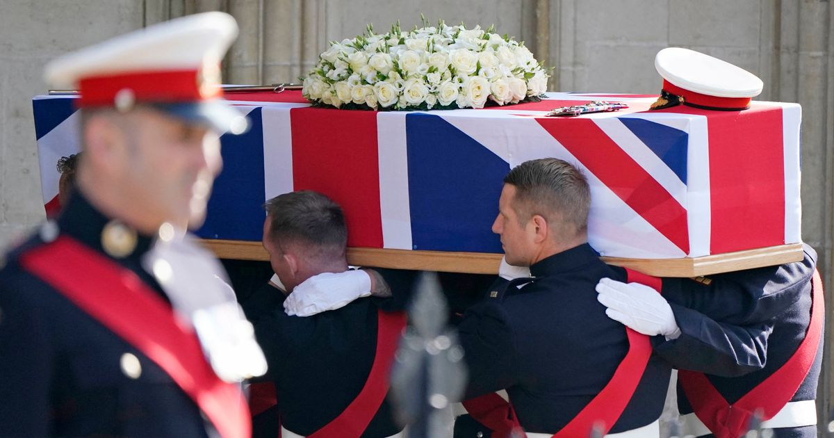 Royal Marines and Armed Forces chiefs at funeral of Major General Matthew Holmes