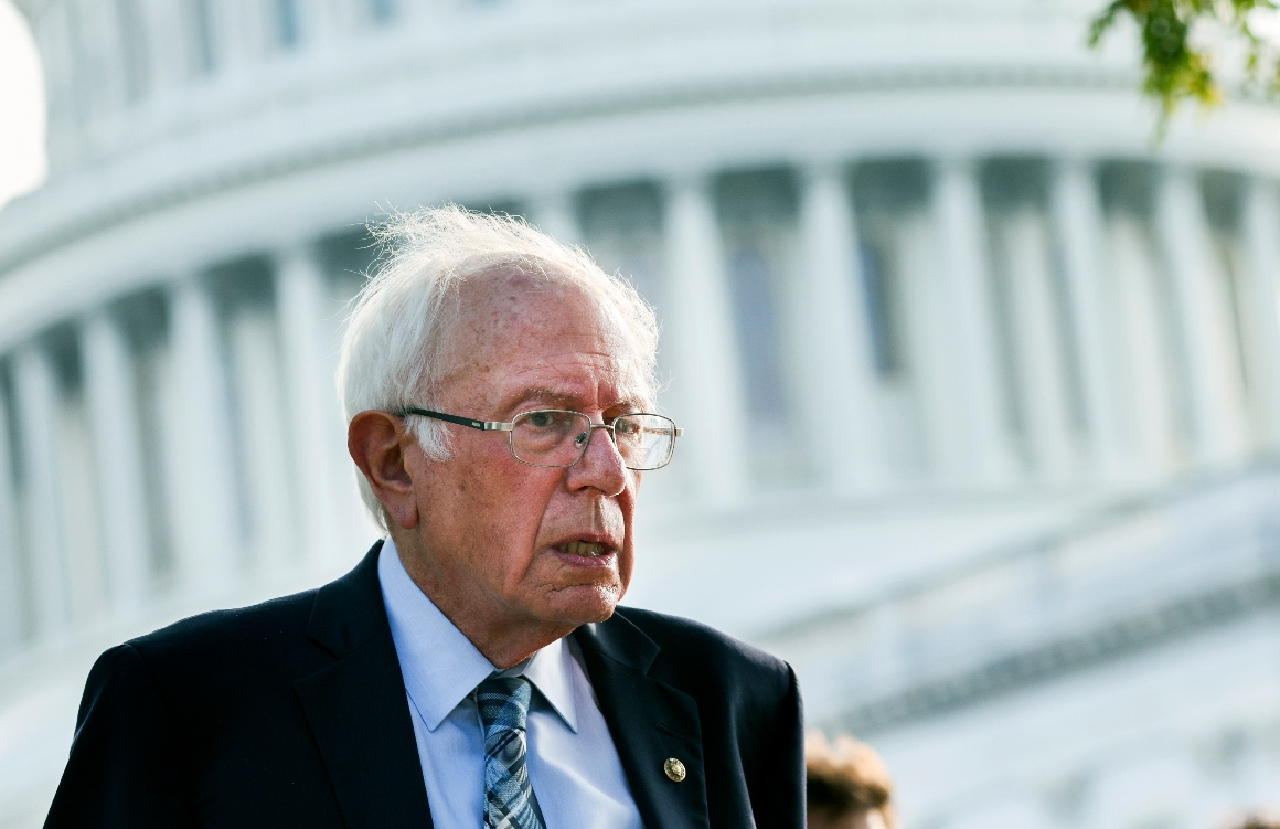 Sanders sees battle for America's soul playing out in Congress