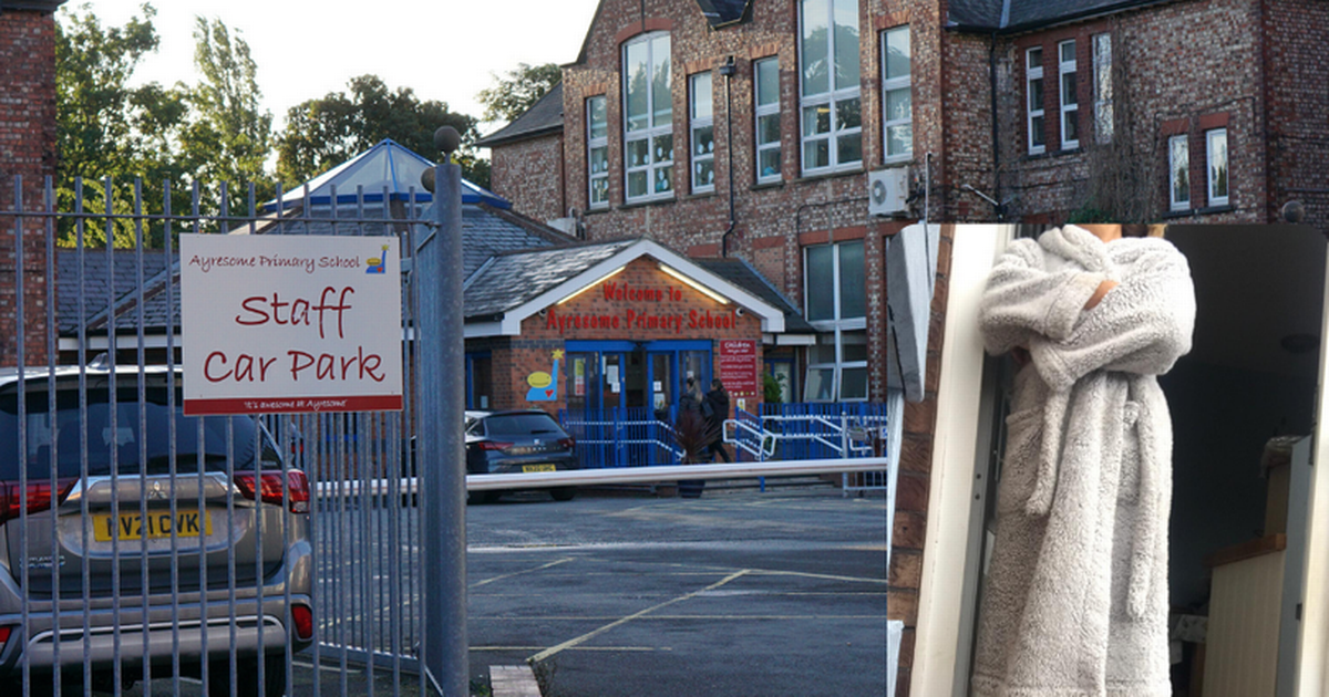 School bans parents wearing dressing gowns from dropping off children