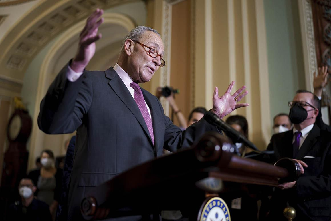 Schumer's latest thinking on the debt ceiling