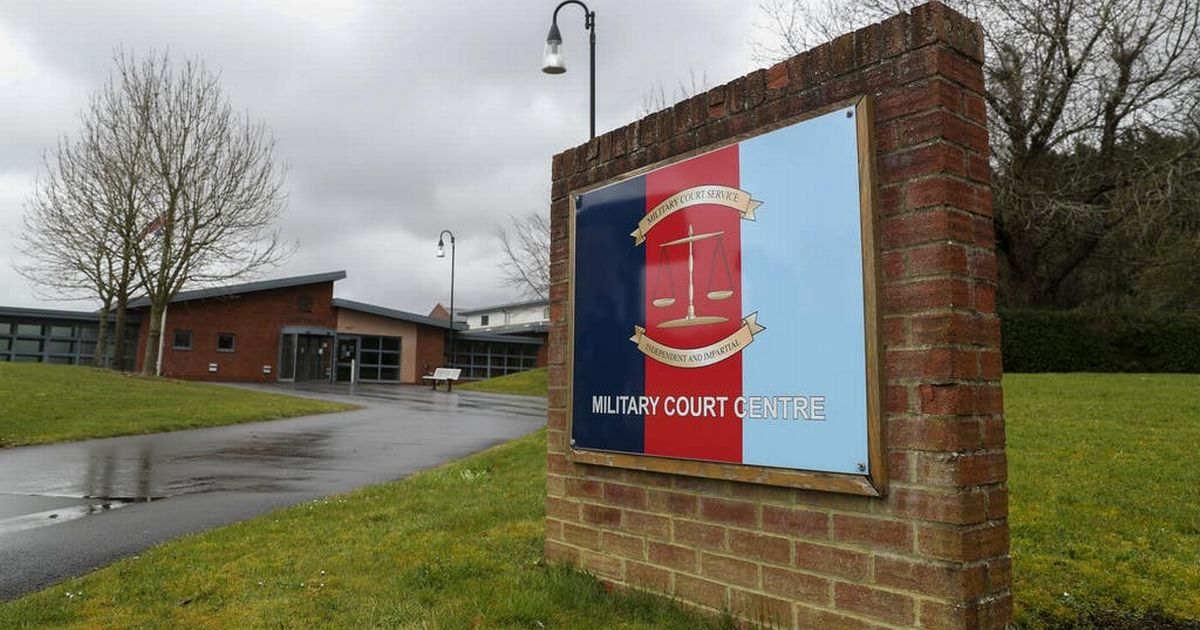 Soldier accused of kissing a superior officer