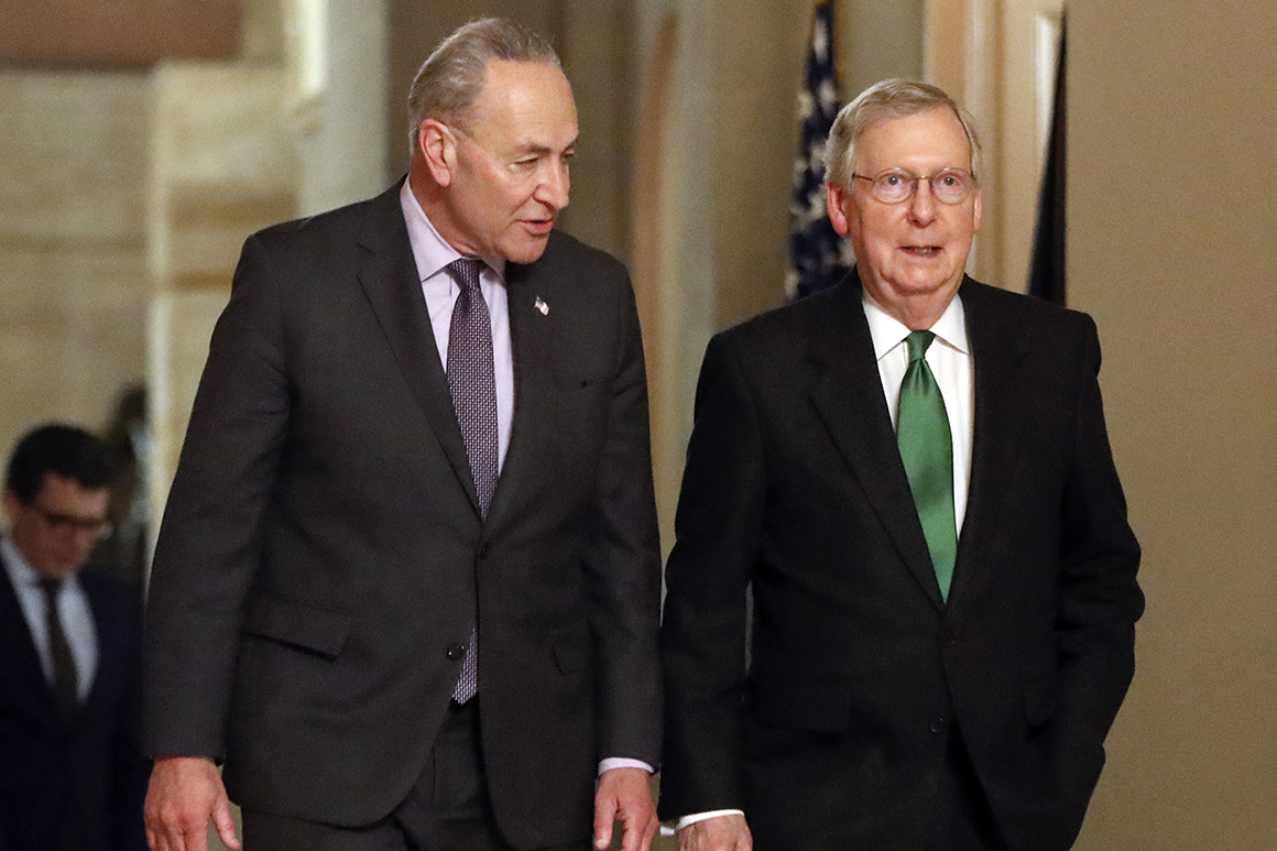 The debt drama that masked a brutal power struggle: Schumer vs. McConnell