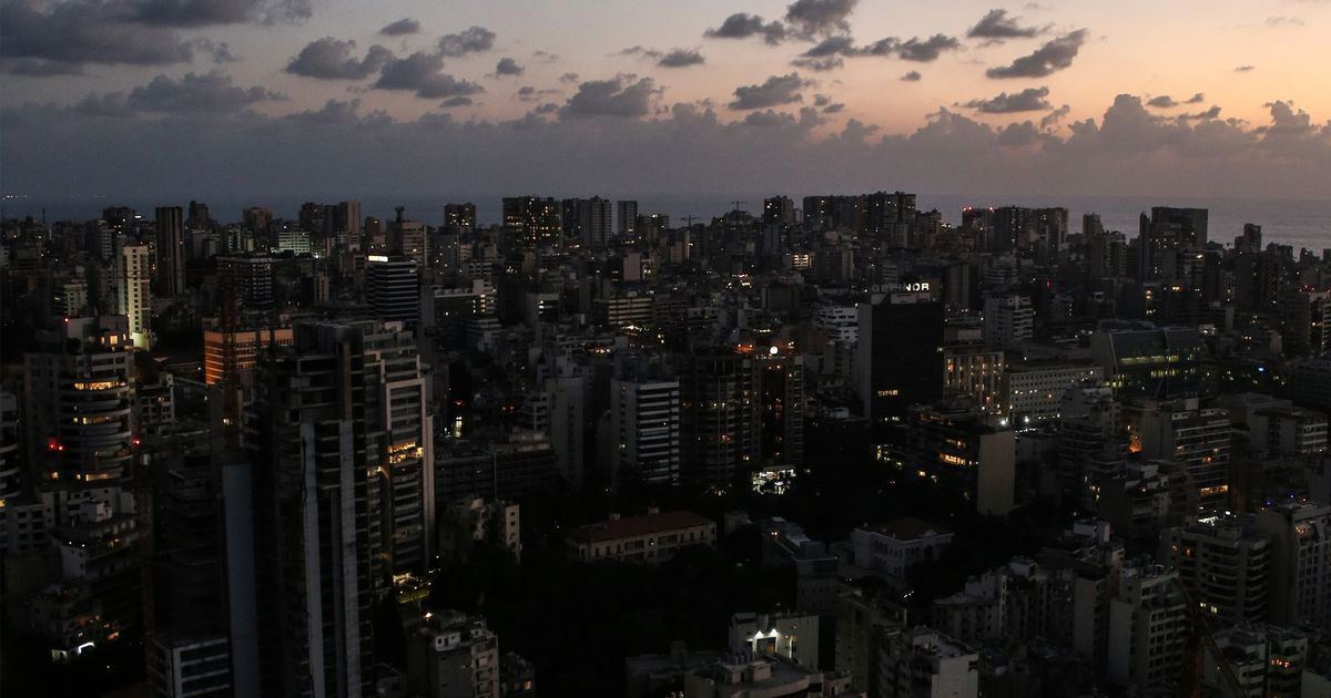 Lebanon is suffering with a huge power cut