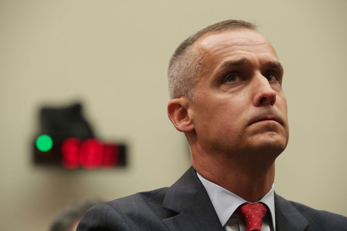 Trump donor files report to police alleging unwanted sexual advances from Corey Lewandowski