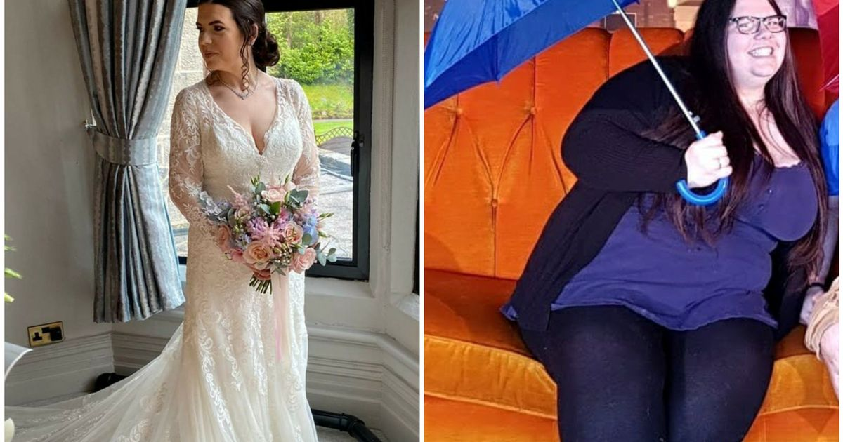 Vicky ditched 204lbs to get married after pictures left her in tears