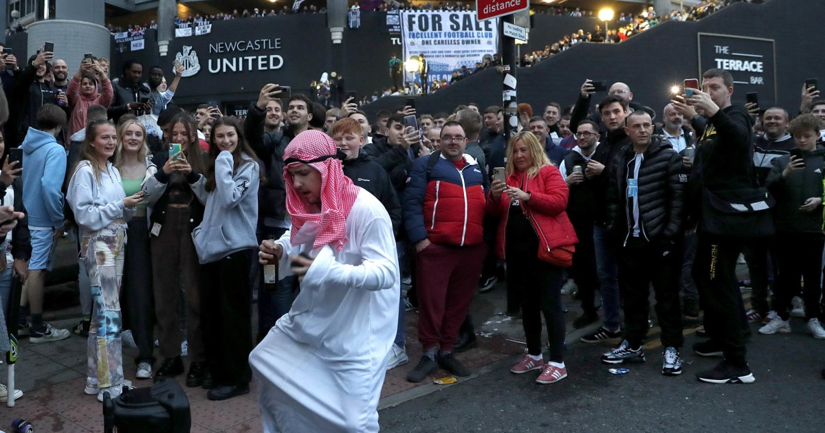 Watch: Newcastle United fans celebrate soccer club's Saudi-led takeover