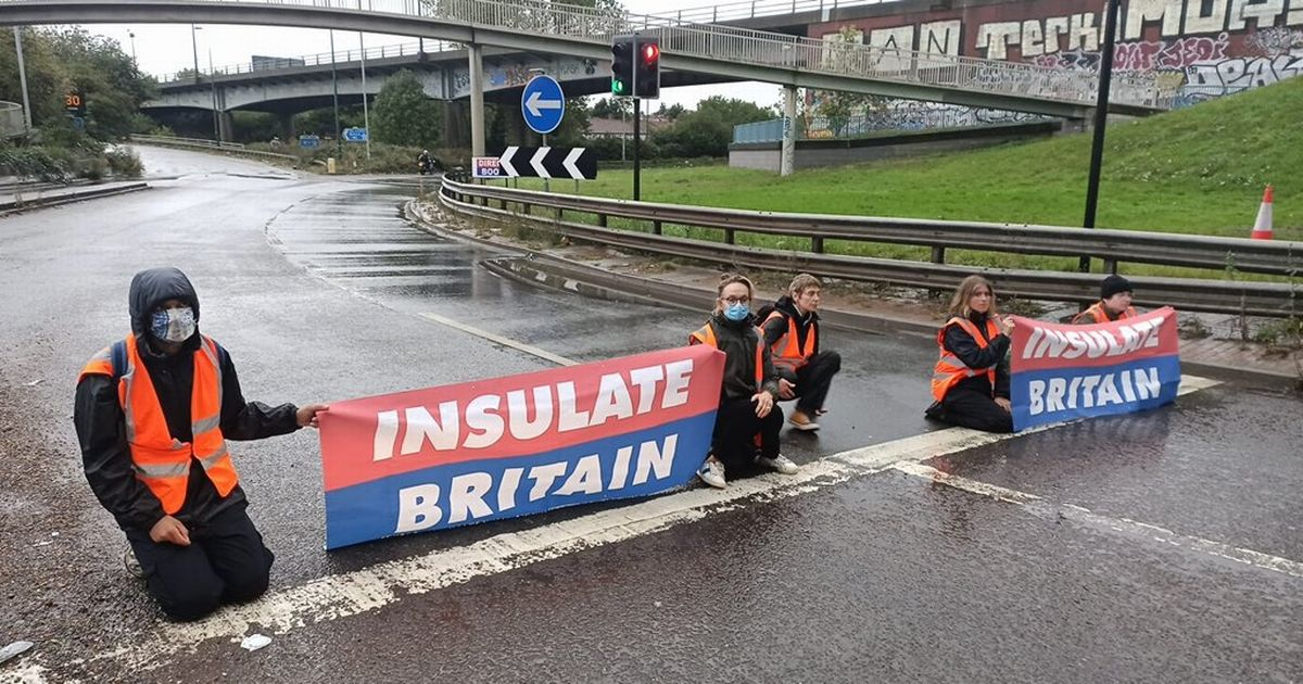 What is Insulate Britain? Protesters block London roads