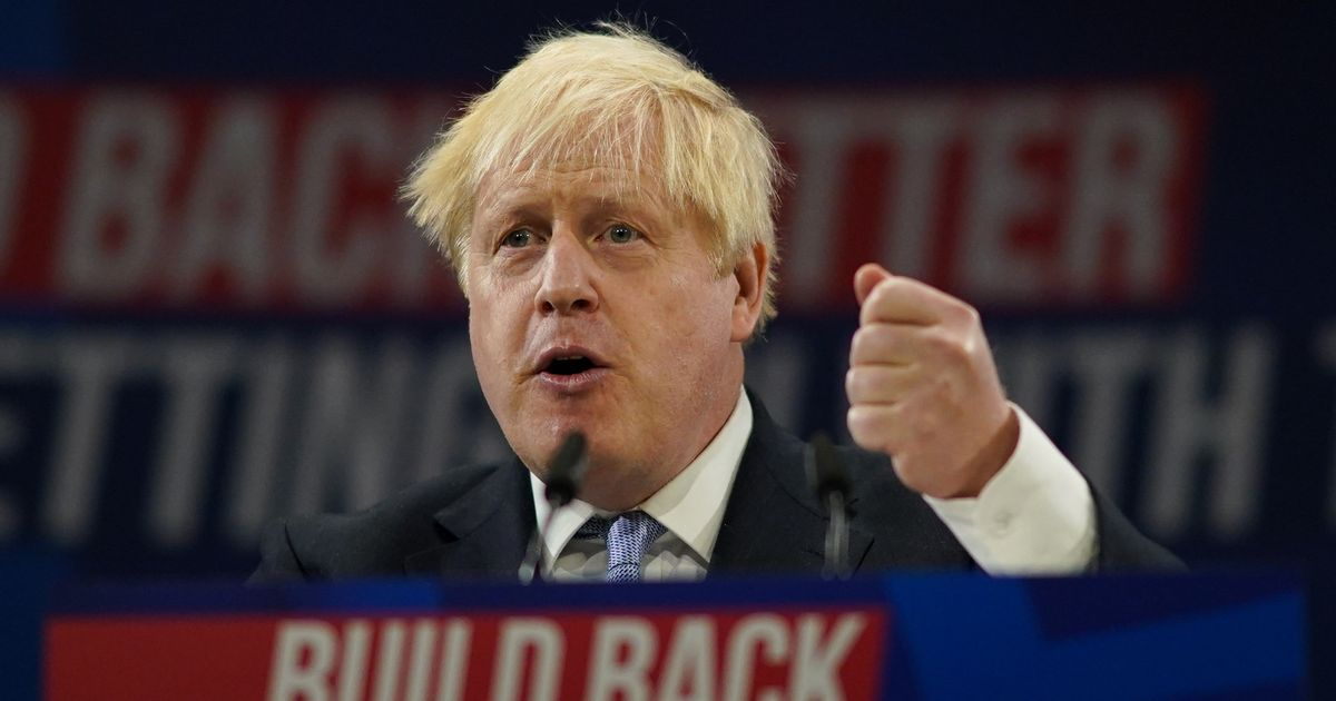 What is levelling up? Term explained as Boris Johnson uses message in his keynote Conservative Party conference speech