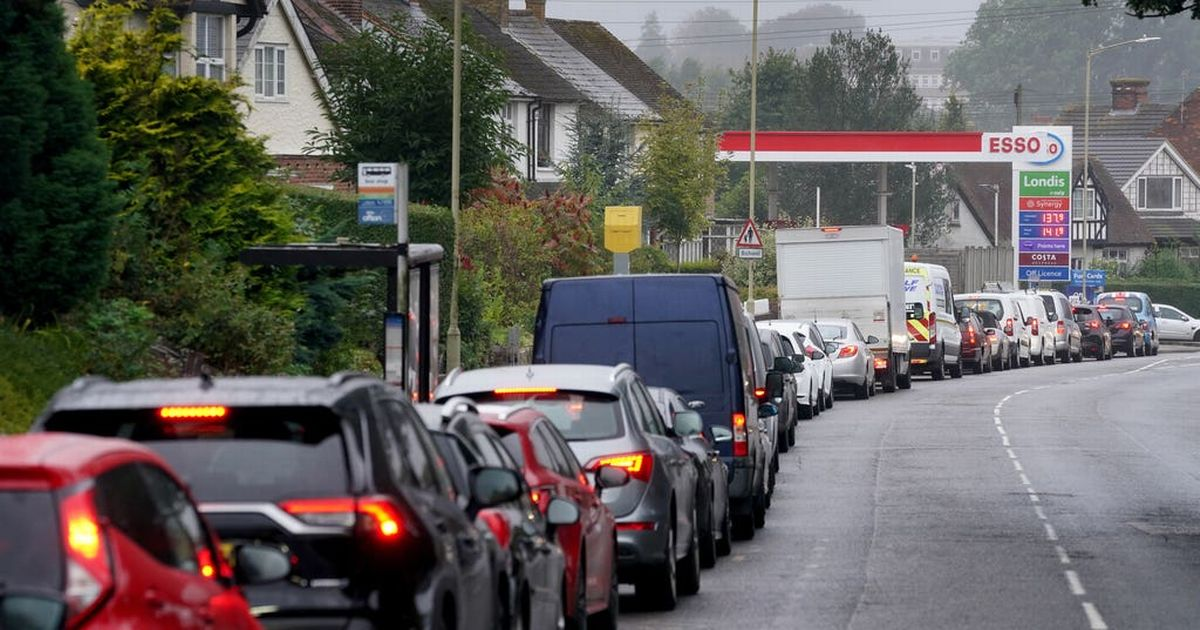 Will you be able to buy petrol next week - and what else will run out?