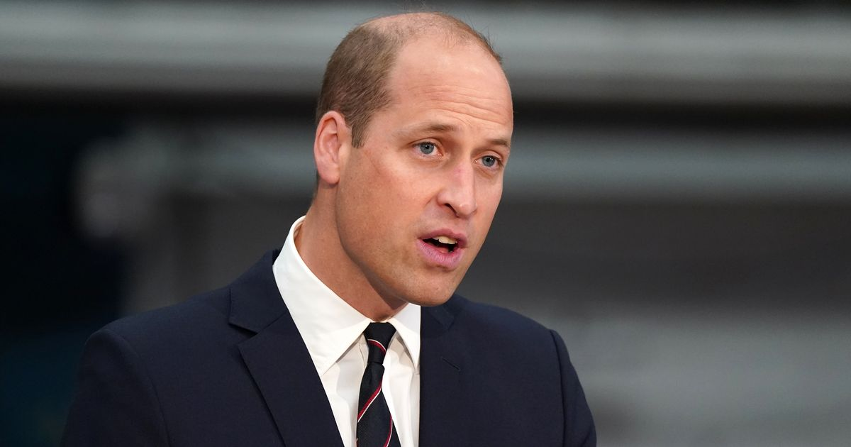 William urges society to 'unite to repair planet' at first Earthshot ceremony