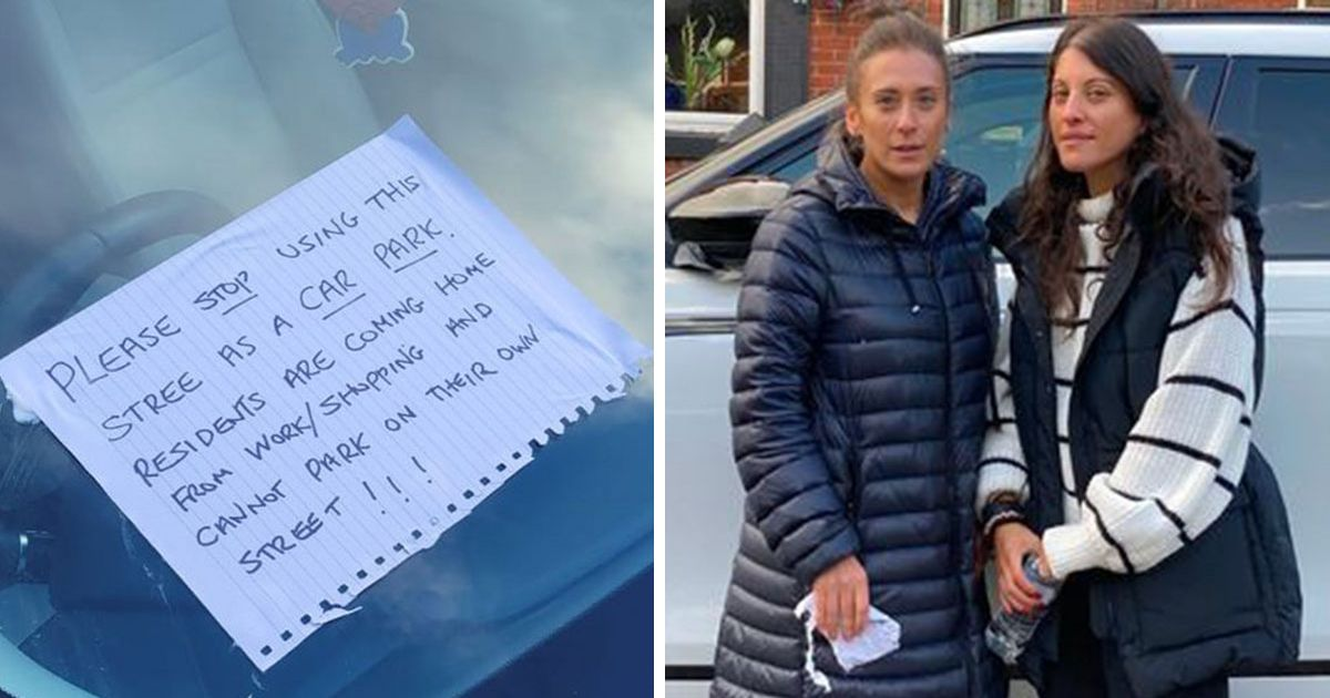 Woman who glued note to sisters' Range Rovers with silicone defends herself