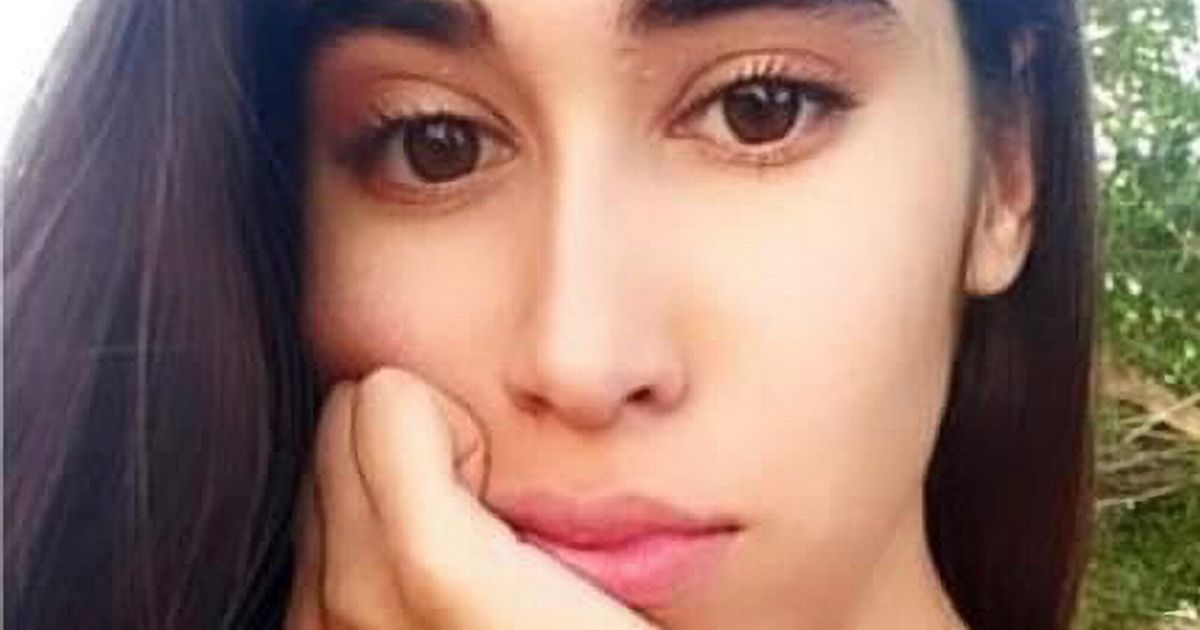 Hatice Nur Karabulut, 21, was taking a picture with her cousin when she died on Monday