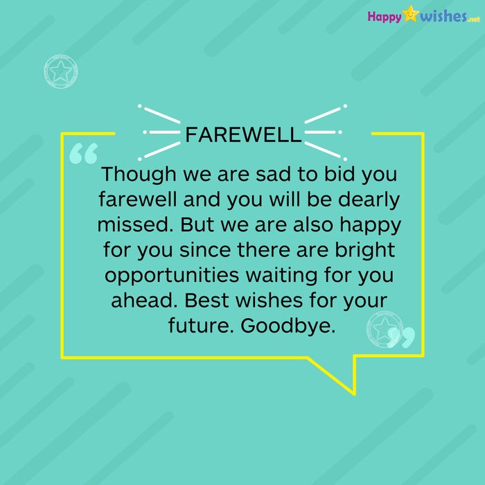 Best Farewell Quotes 5
