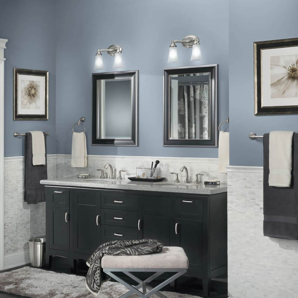 Best Color To Paint Bathroom For Makeup
