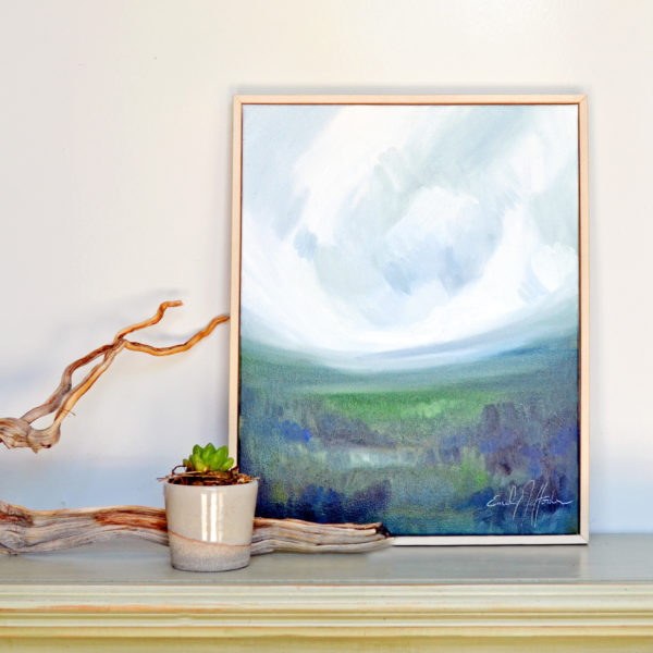 Emily Jeffords - Oil Painting - Gallery Frame