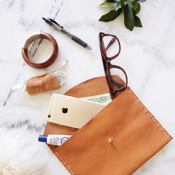 Leather Clutch Workshop | Miranda Anderson