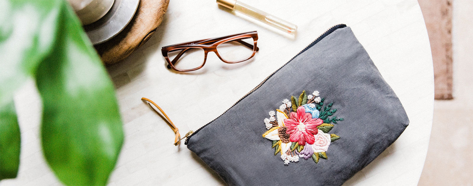 Embellishing with Floral Embroidery | Kristen Gula