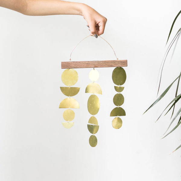 Materials Kit: Brass Wall Hanging