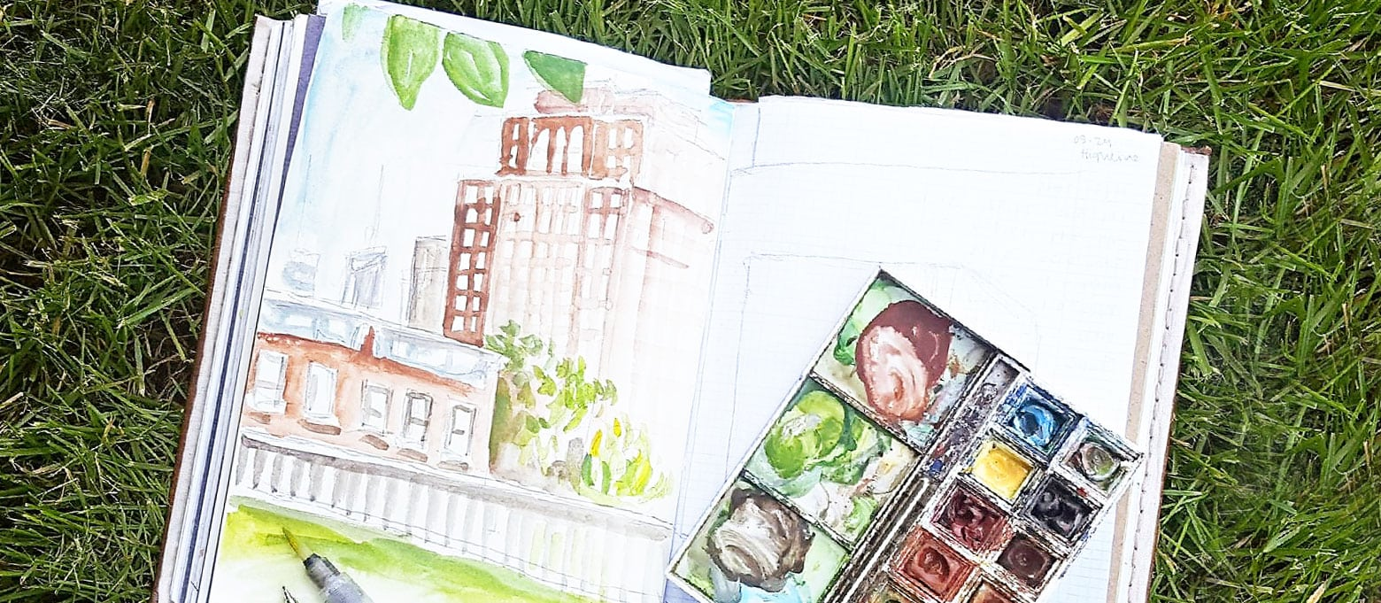 Travel Sketching & Painting | Chelsea Ward