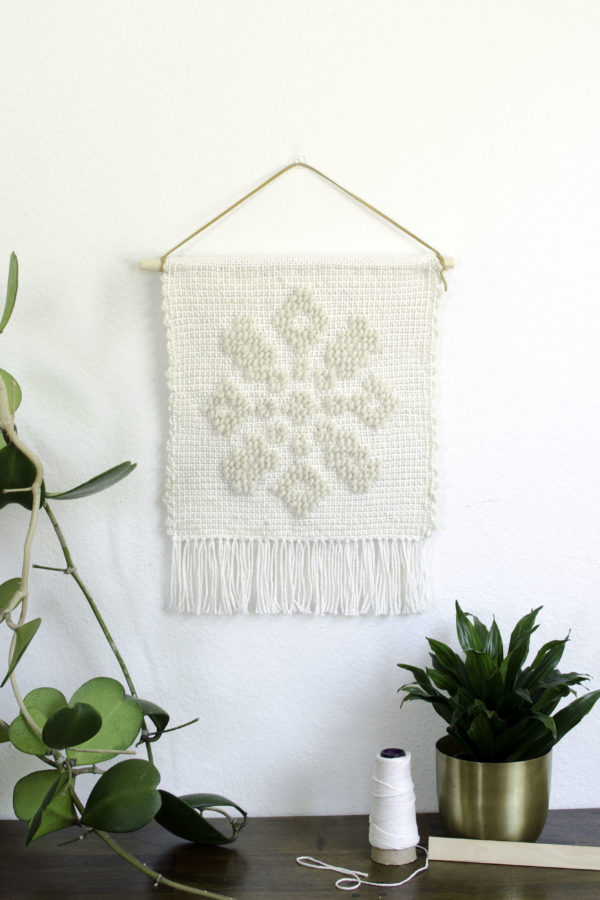 Materials Kit: A Neutral, Intricate Pibione Tapestry Weaving | Lindsey Campbell