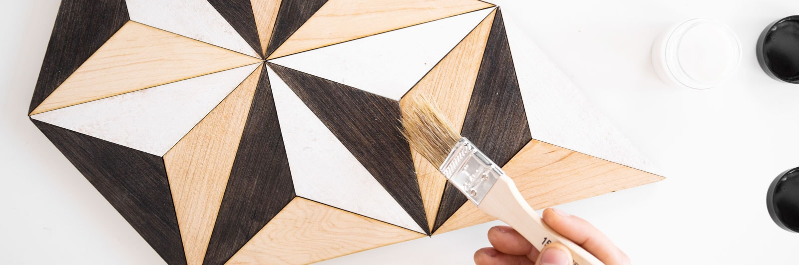 Geometric Wood Art | Nicole Sweeney