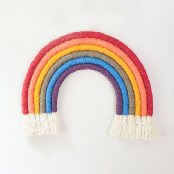 Wrapped Fiber Rainbow - Primary Colorway Materials Kit