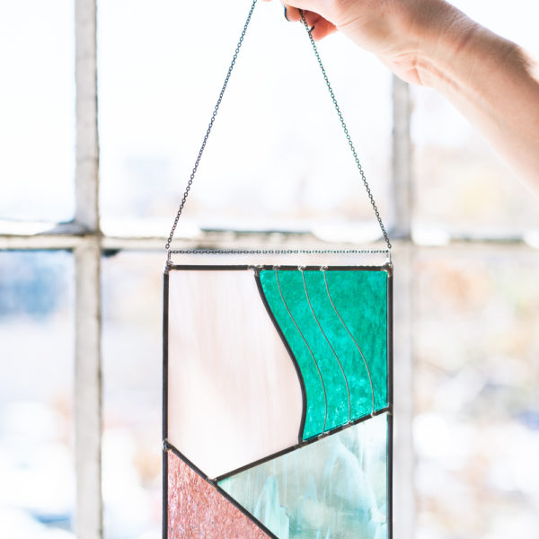 Our second Premium workshop of 2019 explores modern stained glass with artist Lauren Earl.