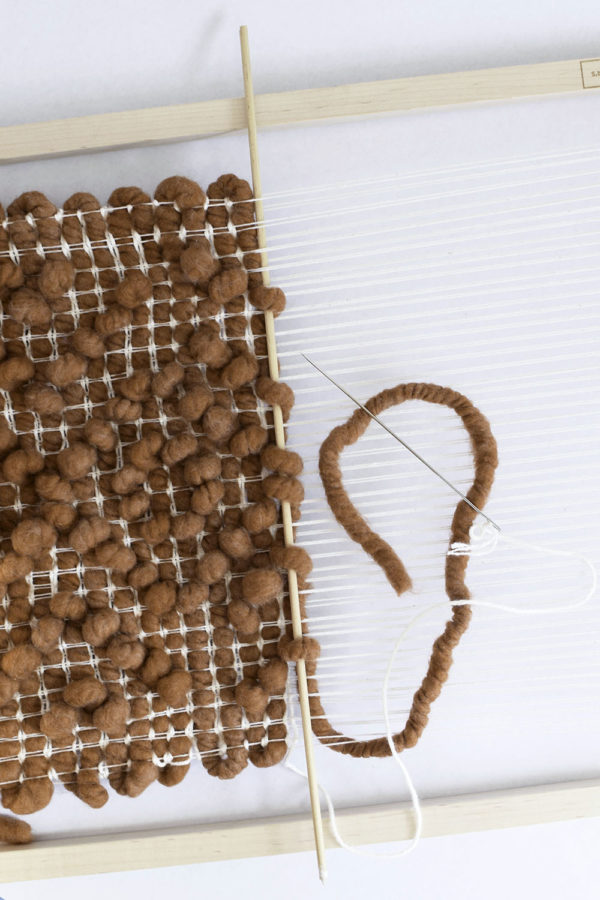 A Rust Pibione Weaving | Love Fest Fibers | Lindsey Campbell Materials Kit