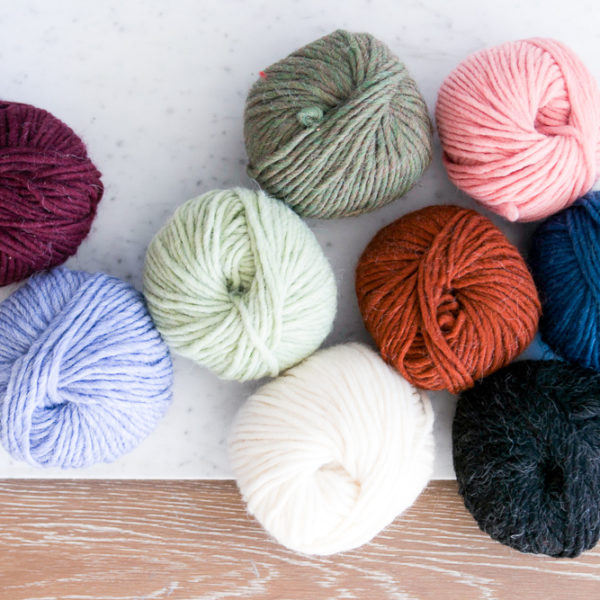 Single skeins of our custom Lana Yarn