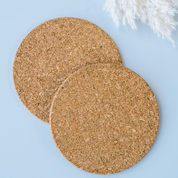 A Pair of Cork Trivets | The Crafter's Box