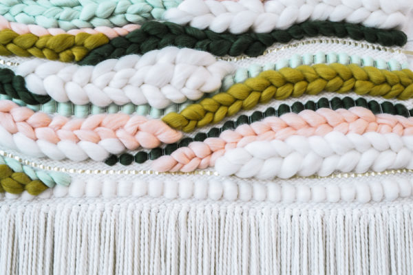 A Premium Large Organic Tapestry Weaving Workshop | The Crafter's Box
