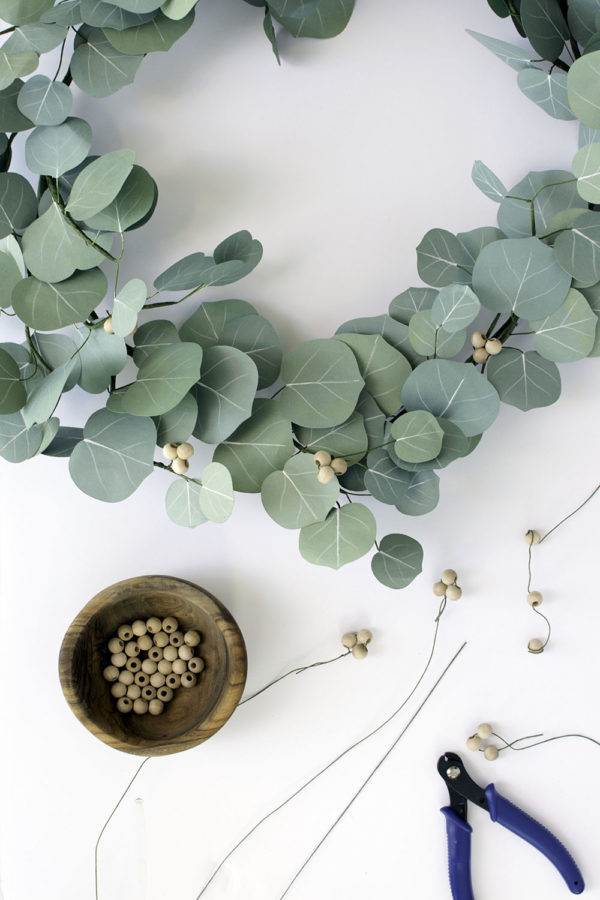 A Handcrafted Paper Eucalyptus Garland   The Crafter's Box