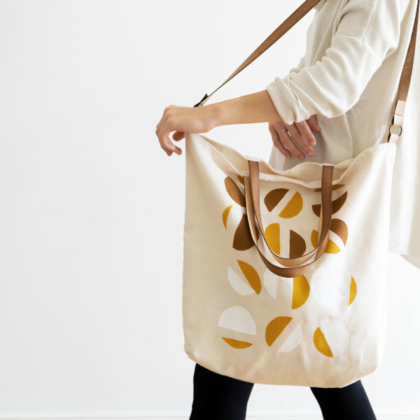 Vegan Large Canvas Farmer's Market Totes | The Crafter's Box