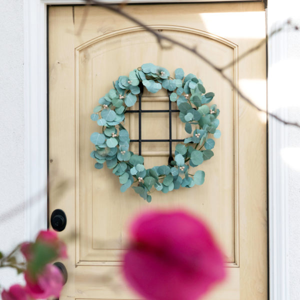 A Silver Dollar Eucalyptus Wreath | The Crafter's Box