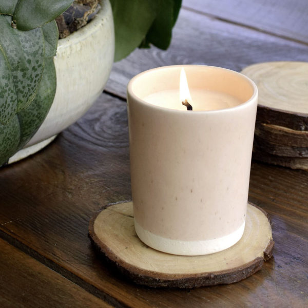 A Handthrown Ceramic Vessel by Paper & Clay | Scentblending & Candle Making
