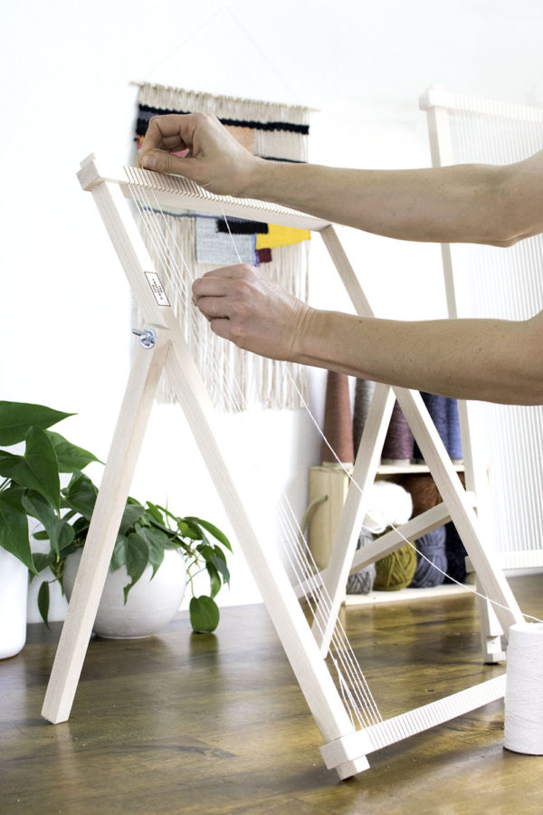 Maple Frame Loom Legs | The Crafter's Box