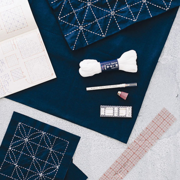 A Sashiko Workshop with Jessica Marquez | The Crafter's Box