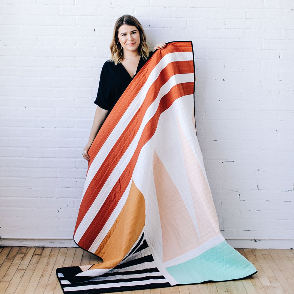 A Premium Modern Quilting Workshop | The Crafter's Box