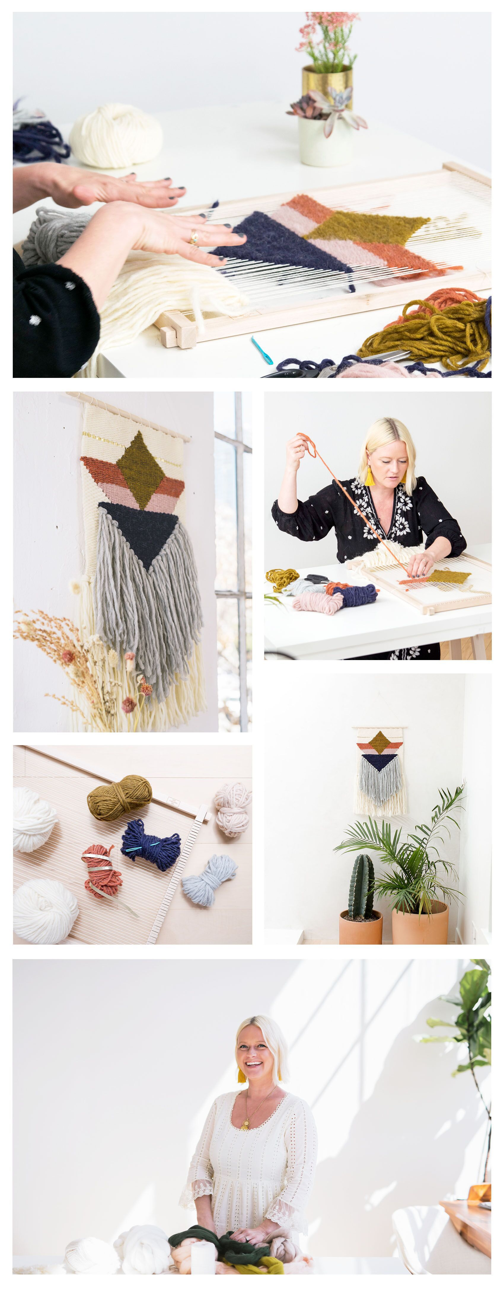 Weaving with Geometric Shapes | The Crafter's Box
