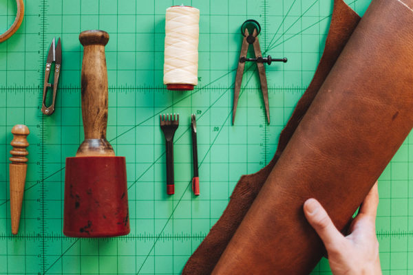 Leather Craftsmanship Workshop | Tyler Axtell, Bradley Mountain | The Crafter's Box