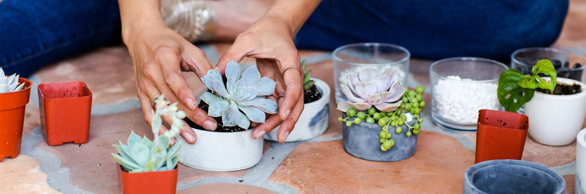 Hand-Poured Concrete | Christie Lothrop | The Crafter's Box
